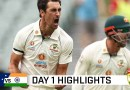 Aussie bowlers take the honours on gripping opening day | Vodafone Test Series 2020-21