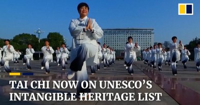 Chinese martial art Tai Chi is added to Unesco's intangible cultural heritage list