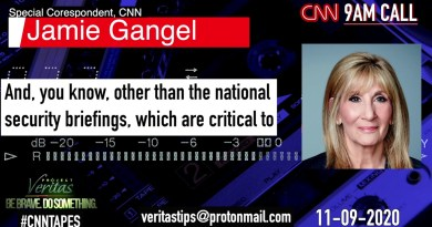 #CNNTapes: CNN's Jamie Gangel Details How Network Should Cover Up Trump's Contested Election Claims