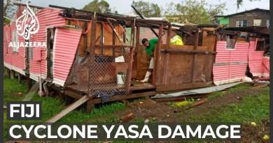 Cyclone Yasa weakens but leaves extensive damage in Fiji