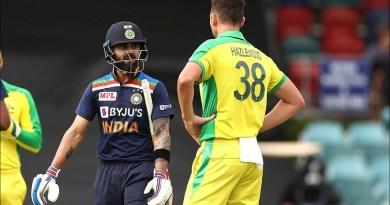 Hazlewood gets Kohli wicket for fourth successive ODI | Dettol ODI Series 2020