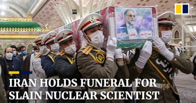 Iran vows revenge as it holds funeral for assassinated nuclear scientist Mohsen Fakhrinzadeh