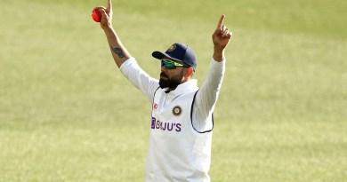 Kohli takes brilliant catch to remove debutant Green | Vodafone Test Series 2020-21