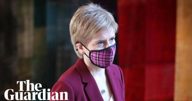 Nicola Sturgeon appears at first minister's questions after breaking coronavirus rules – watch live