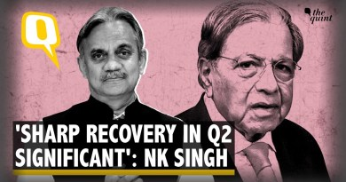 NK Singh Sees Sharp Economic Recovery but Worries About Delay in Fixing Banks | The Quint