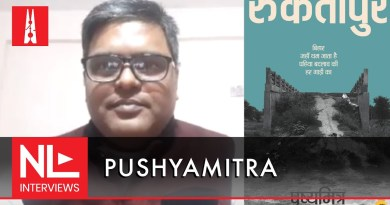 NL Interview: Pushyamitr on his book, Ruktapur, and how media has impacted the psyche of voter