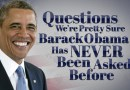 "President Obama Answers ""Questions We're Pretty Sure Barack Obama Has Never Been Asked Before"""