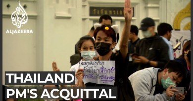 Protesters rally after Thai PM acquitted of ethics violation