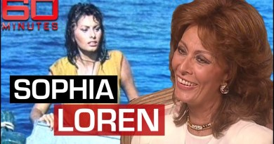 'Screen Queen' Sophia Loren on Hollywood icon status and ageing gracefully | 60 Minutes Australia