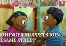 Sesame Street creates Rohingya muppets to help refugee children