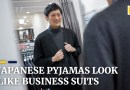 Work online in style: Japanese company designs pyjamas that look like suits