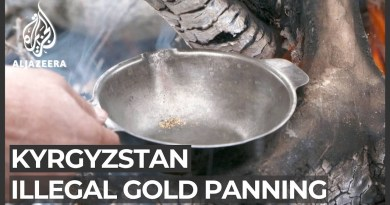 Kyrgyzstan: High unemployment increases illegal gold panning