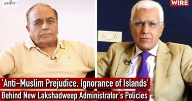 'Anti-Muslim Prejudice, Ignorance of Islands' Behind New Lakshadweep Administrator's Policies