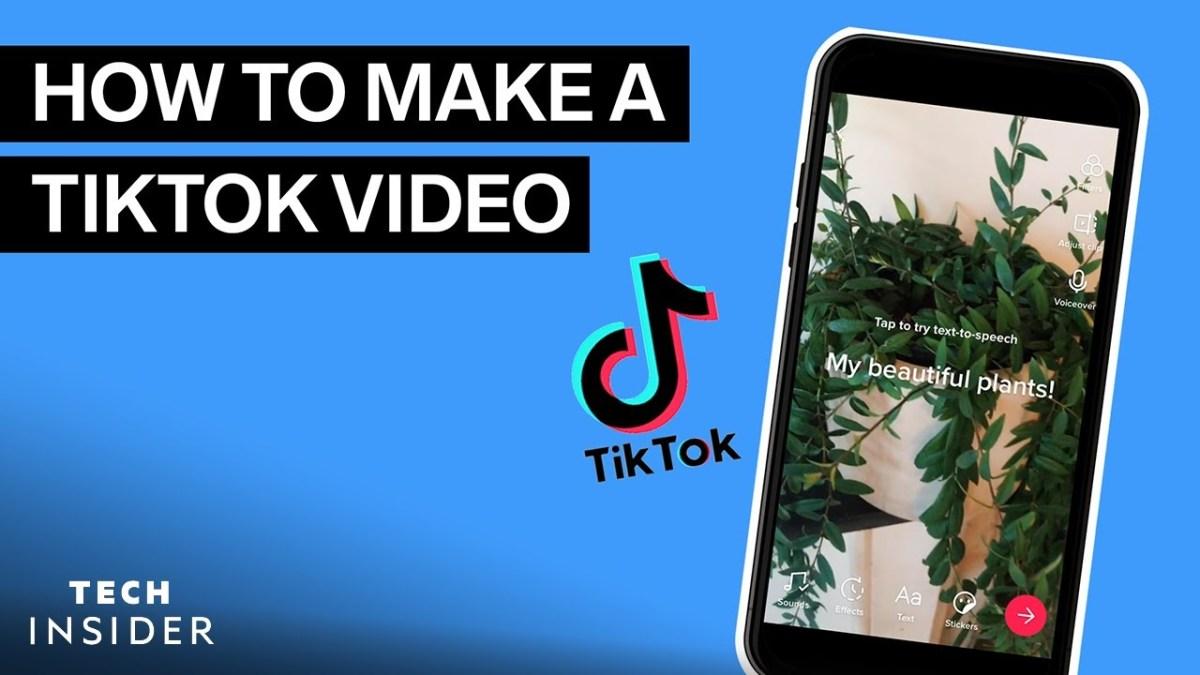How To Make A TikTok Video