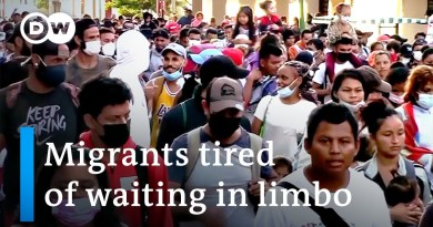 Thousands of migrants head toward US from southern Mexico | DW News