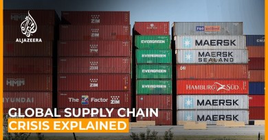 Where's my stuff? Global supply chain crisis explained