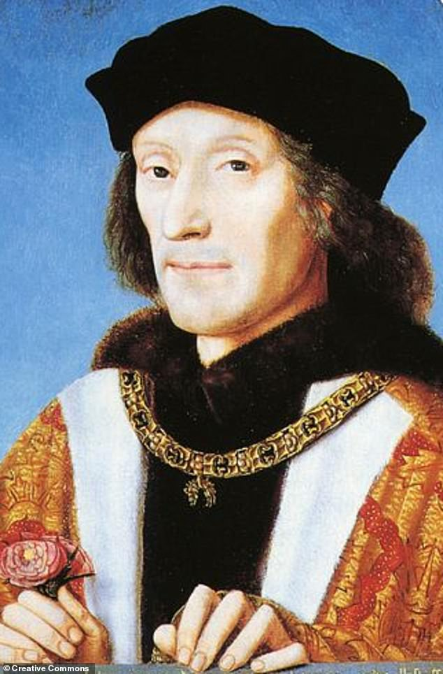 Henry VII (pictured) was declared king and he was officially crowned at a coronation ceremony on 30 October 1485. As the first king of the Tudors, he reigned for nearly 24 years before being peacefully succeeded by his son, Henry VIII
