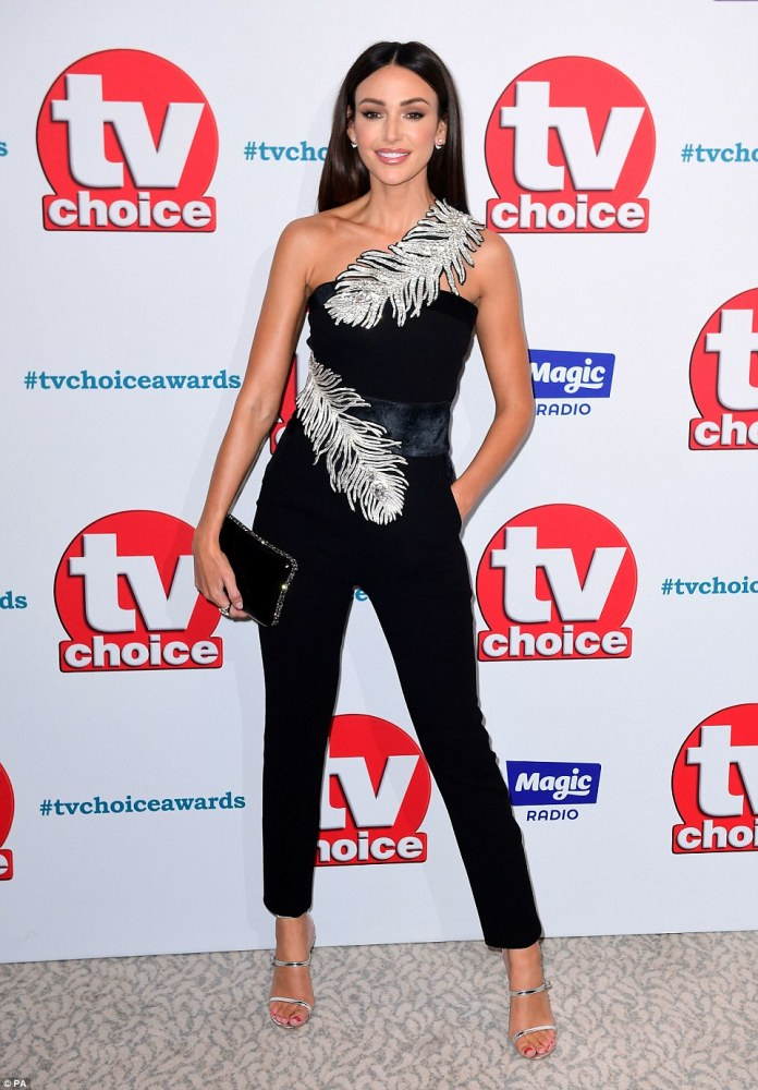 f04f311dd8 TV Choice Awards 2018  Michelle Keegan joins Holly Willoughby and ...