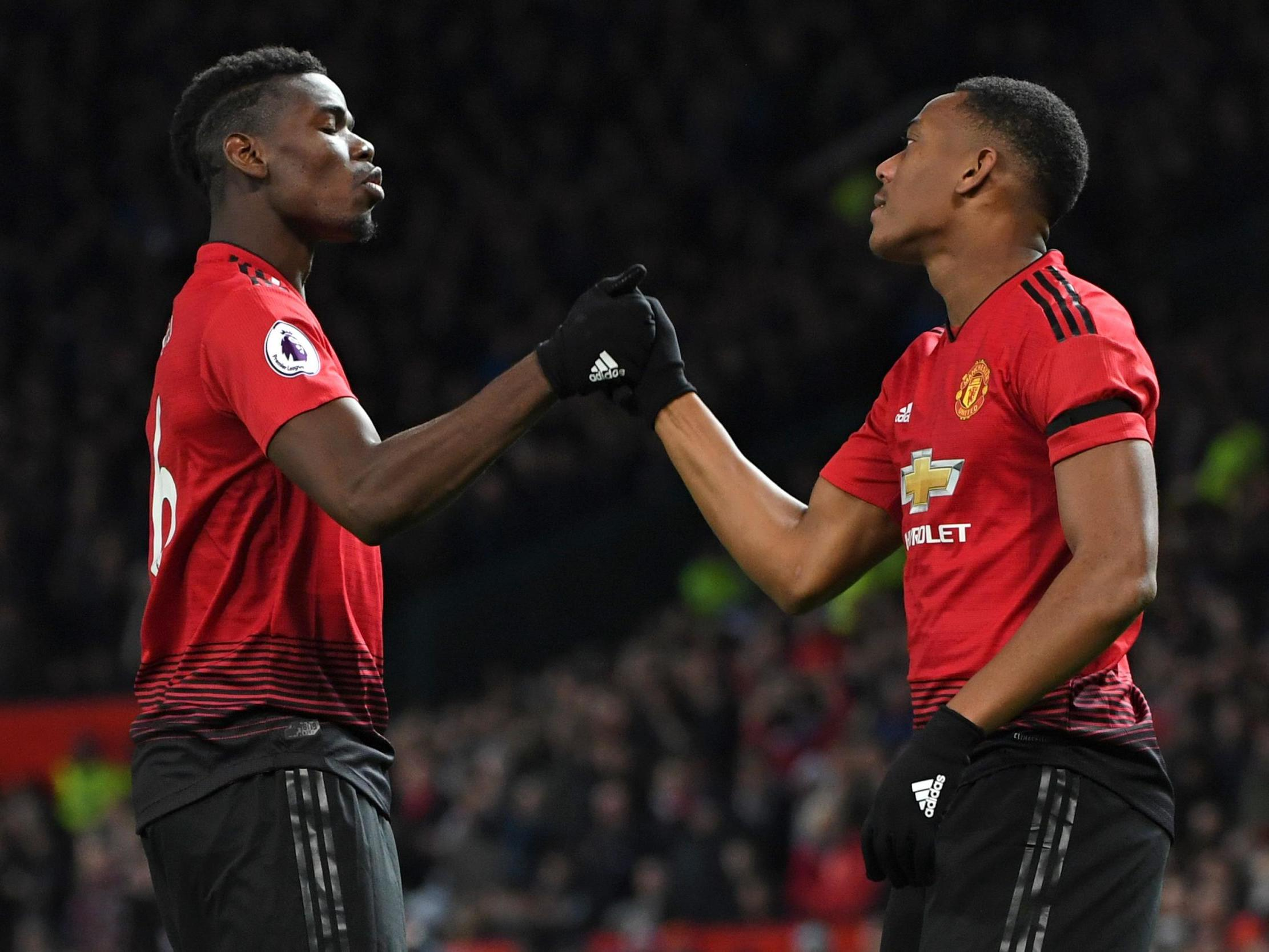 Image result for martial and pogba