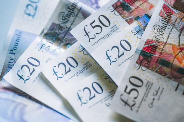 british pound banknotes