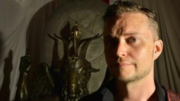 The Satanic Temple co-founder Lucien Greaves