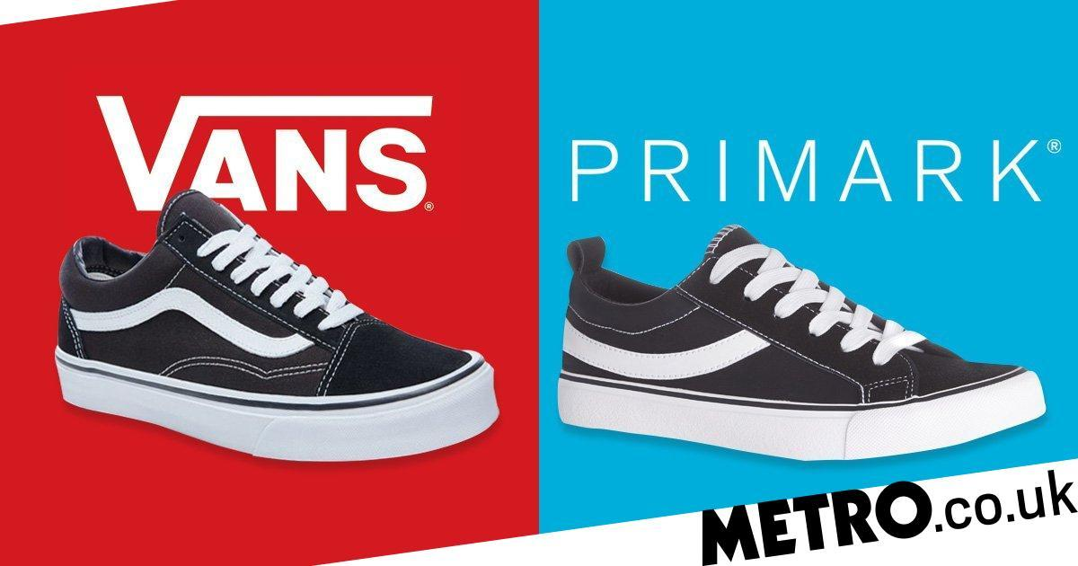 c7f972dc058 Vans is suing Primark for selling  copies  of their trainers - Newscabal