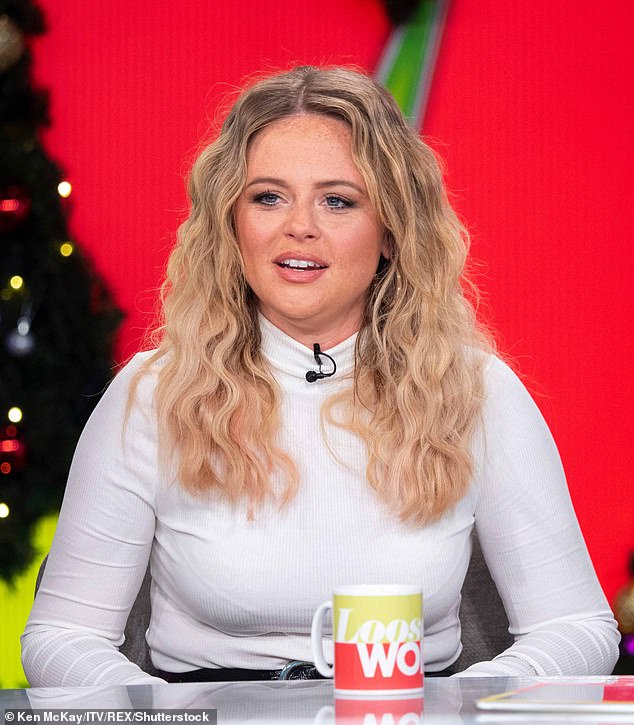 Big fan: Emily won an army of fans during her recent stint on I'm A Celebrity, and is set to embark on her new comedy tourTalk Thirty To Me later this year