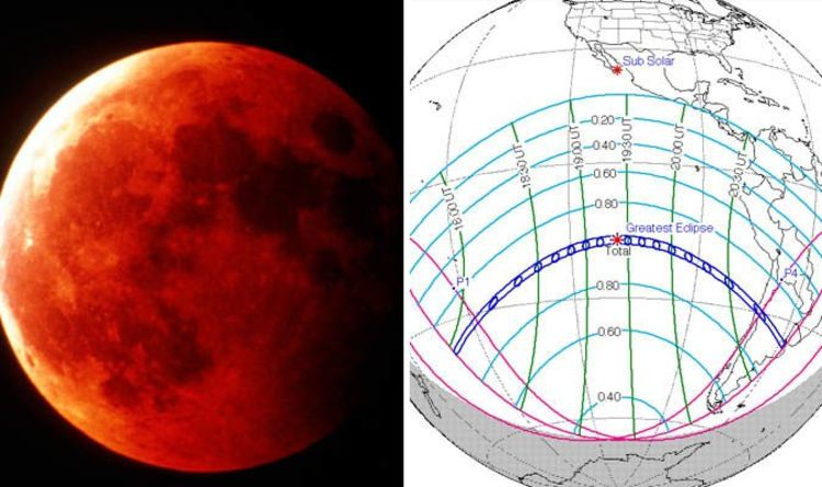Eclipse 2019 All Solar And Lunar Eclipses Of 2019 Mapped List
