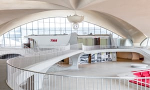 TWA's Flight Center, in New York. Flight operations ended at TWA's Flight Center in October 2001.