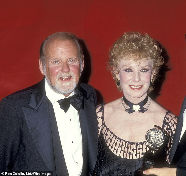 The 55-year-old Broadway thespian told THR: 'My mother and father have one of the greatest love stories ever known. They were extremely complex people with an indestructible bond, loyalty and trust that endured both fantasy and reality' (pictured 1987)