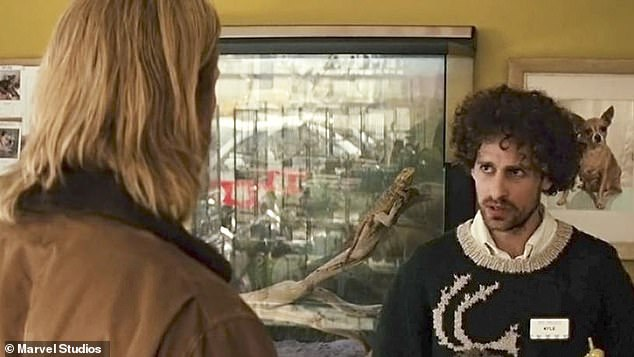 Isaac Kappy (pictured with Chris Hemsworth in Thor) reportedly jumped to his death on Mondayfrom the Transwestern Road bridge onto Interstate 40 in Arizona