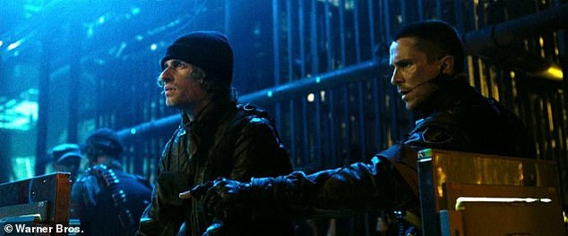 Isaac Kappy alongside Christian Bale in Terminator: Salvation. Several bystanders reportedly tried to restrain him from leaping from the Arizona bridge