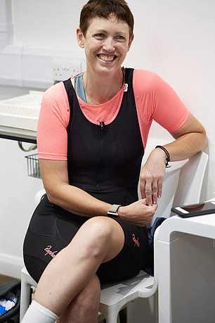 Christine O¿Connell was nearing five years in remission for breast cancer when she suffered a seizure while cycling in London last February. She is receiving new medication to treat her brain tumour