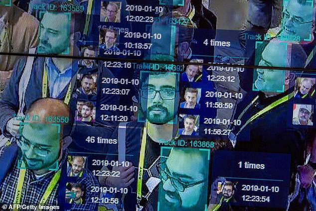 The idea mimics methods used in China to track its citizens using cameras. A recent report shows that the county's program has gone even further. Stock image