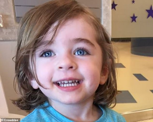 In January 2018, Kaia (pictured) was diagnosed with juvenile dermatomyositis by doctors at Children's Hospital of Philadelphia