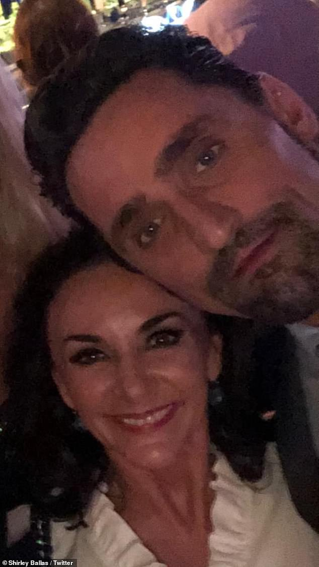 Relationship: The Strictly Come Dancing judge, 58, has been dating actor Daniel Taylor since last year after after meeting when they appeared in a panto of Jack and the Beanstalk together