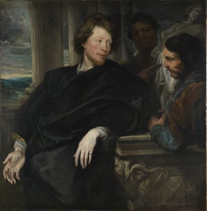 Portrait of George Gage with Two Attendants, by Anthony van Dyck