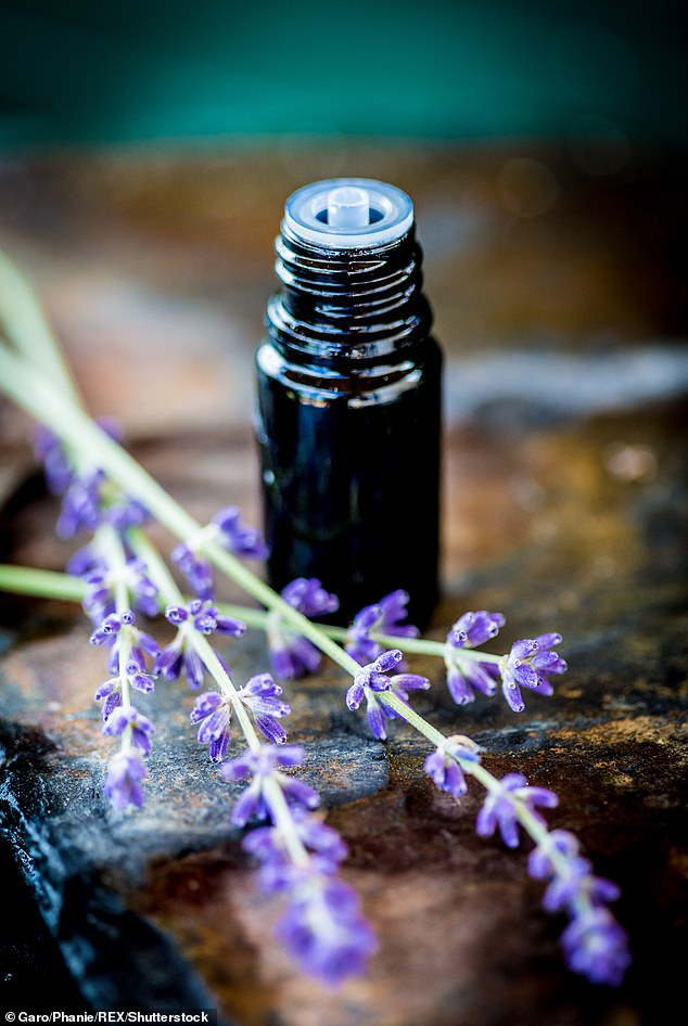Research shows that lavender oil works on the same receptors in the brain as anti-anxiety medications such as Valium, but unlike these drugs, it is not addictive and doesn't cause withdrawal symptoms