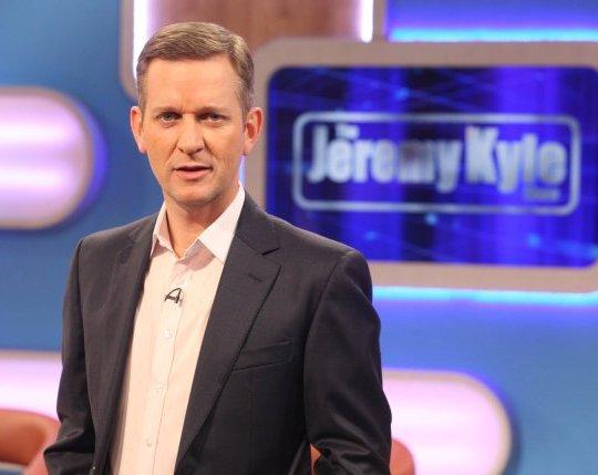 Jeremy Kyle on set of the now-cancelled The Jeremy Kyle Show