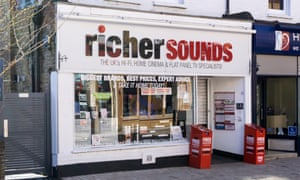 Richer Sounds store