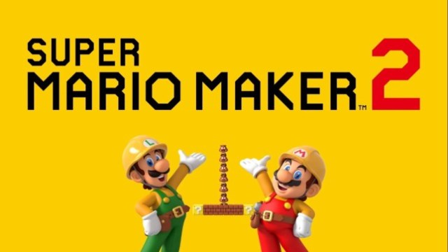 Super Mario Maker 2 - the Mario Bros. construction kit