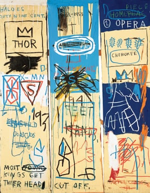 Jean-Michel Basquiat - Charles the First, 1982