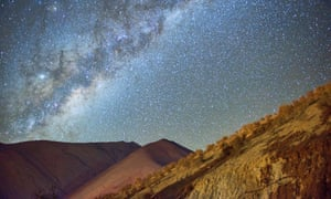 The night sky at Pisco Elqui, Chile.