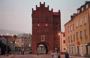 Old City Gate in Olsztyn.