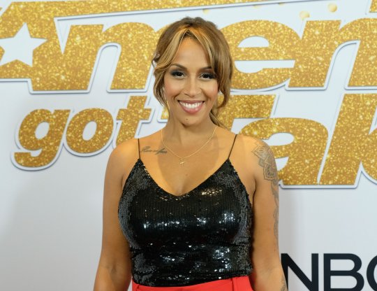 Mandatory Credit: Photo by Broadimage/REX (9880108j) Glennis Grace America's Got Talent Season 13 live show, Los Angeles, USA - 11 Sep 2018 America's Got Talent Live Show Red Carpet
