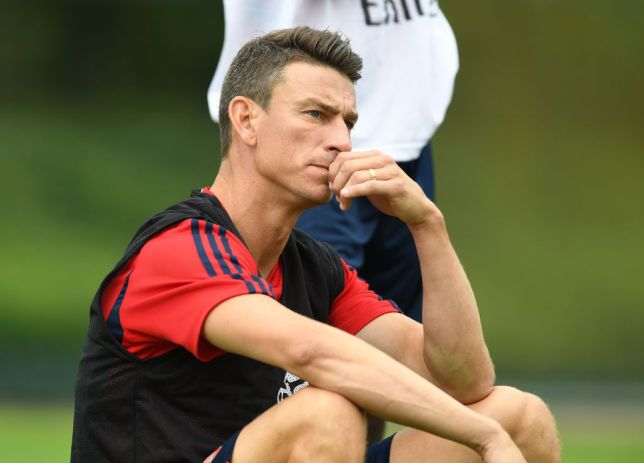 Laurent Koscielny opted to sit out Arsenal's tour of America