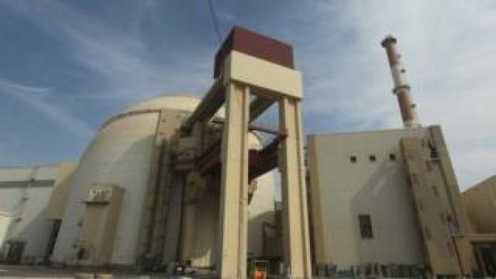 File photo showing the reactor building at the Bushehr nuclear power plant in southern Iran (26 October 2010)