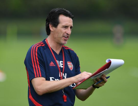 Unai Emery is expected to name a new Arsenal captain (Picture: Getty)
