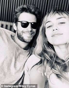 Happier times:  The pair split after seven months of marriage in August 2019