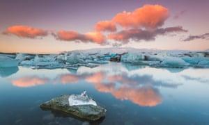 Iceland's Jökulsárlón glacier lagoon